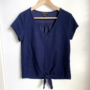 [NWoT] Anthropologie Betsy Tie-front Top *NEW*
